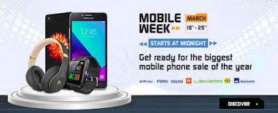 Jumia mobile week discounts