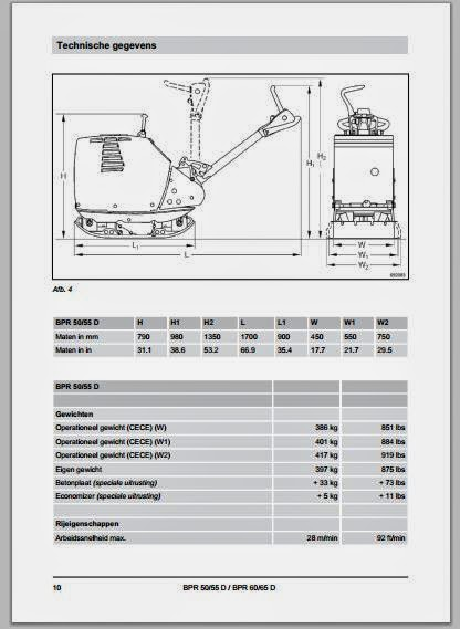 tamper bomag bpr wiring diagram bomag wiring diagram bomag bpr 50,55d & 60-65d maintenance manual - dhtauto.com