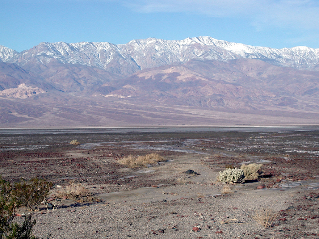 Panamint Mountains no Death Valley