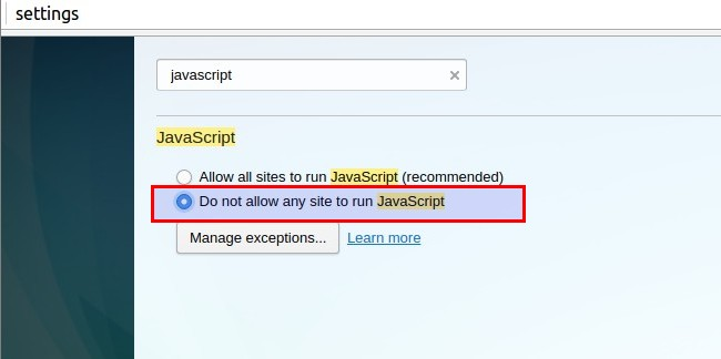 Open source how to enabledisable javascript in your web browser how to video for you ccuart Gallery