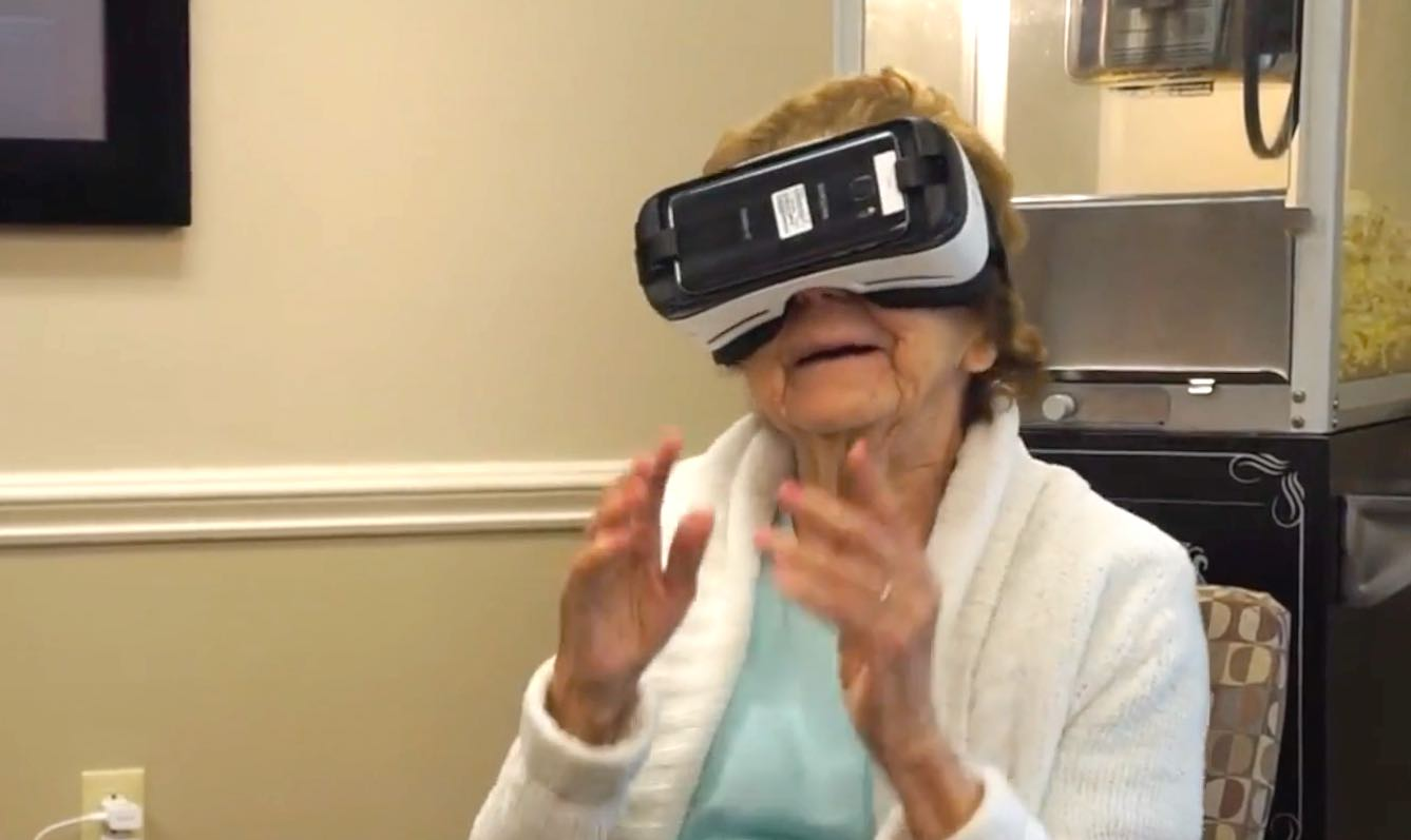 Students Are Helping Seniors With Dementia By Using Virtual Reality