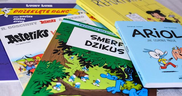 Komiksy - sposób na to, żeby nielubiące czytać dzieci pokochały książki