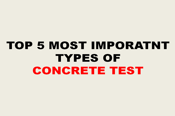 CONCRETE TEST