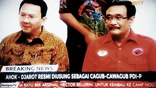 Megawati Akhirnya Putuskan PDIP Dukung Ahok Djarot, Gara Gara 1 Syarat Ini Disetujui Ahok