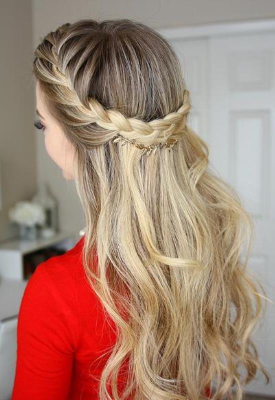 penteados femininos de festa
