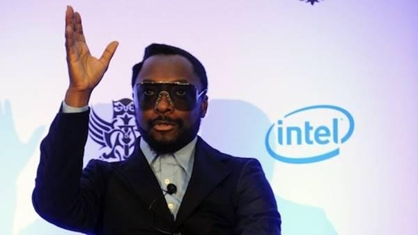 will.i.am do Black Eyed Peas na Intel