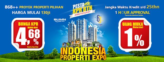 PAMERAN RUMAH MURAH 2018 GRATIS - JAKARTA PROPERTY EXPO JABODETABEK