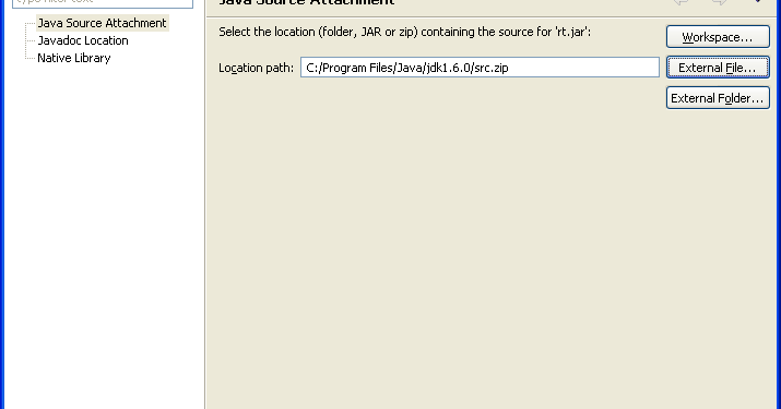How to Attach Source Code in Eclipse to JAR Files for Debugging and