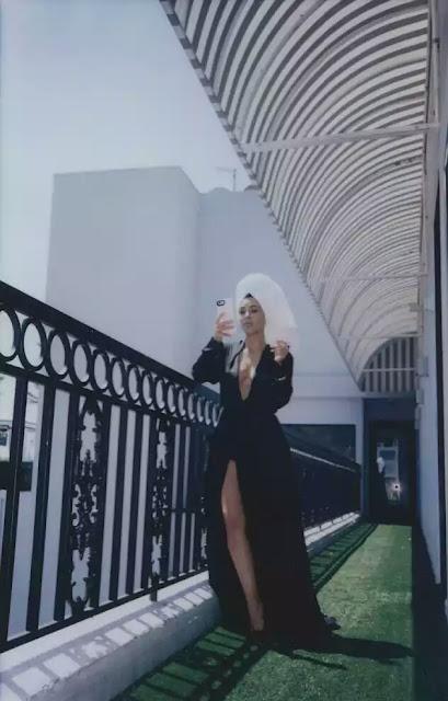 Kim Kardashian Poses N*de In A Bathtub For Vogue Mexico Magazine