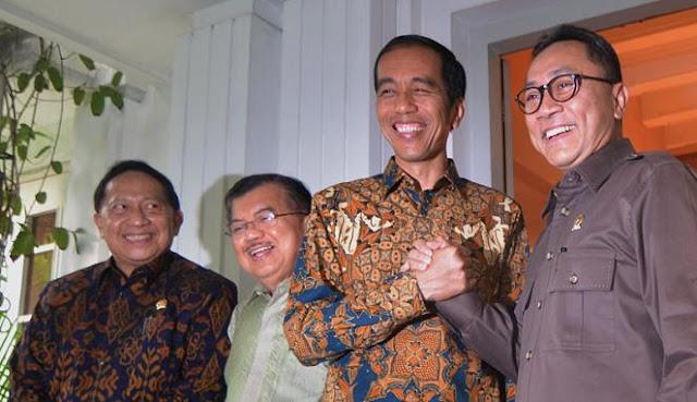 Zulkifli Hasan Temui Jokowi di Istana, PAN Batal Dukung Prabowo?