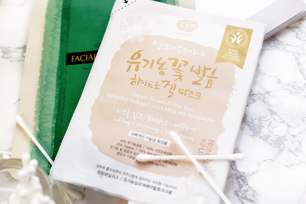 Barely-there-beauty-blog-whamisa-korean-skincare-flowers-hydrogel-sheet-mask-review