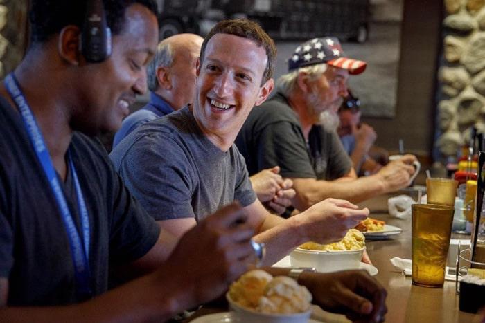 Что ест Марк Цукерберг