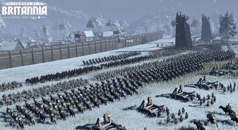 Total War Saga Thrones of Britannia pc full español