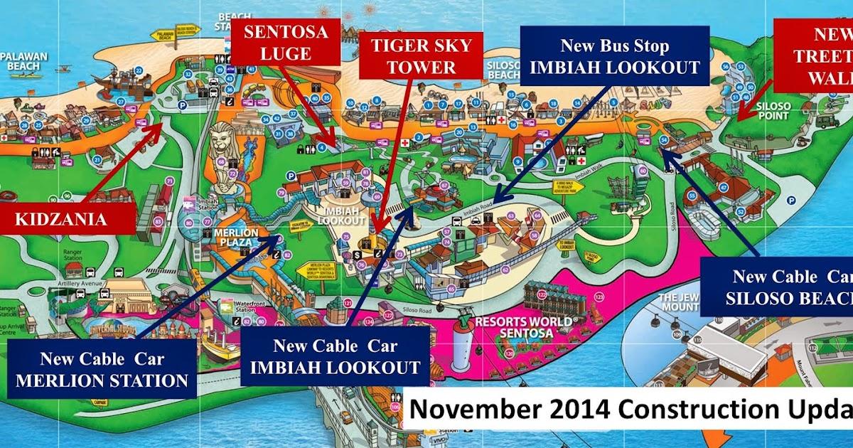 Second Drop Attractions Sentosa Update November 2014