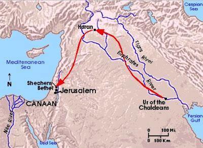 Resultado de imagen de de ur de los caldeos a hebron