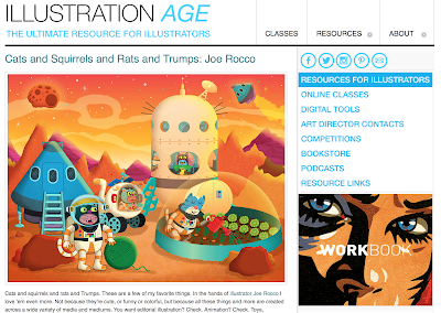 Joe Rocco Featured in Illustration Age!