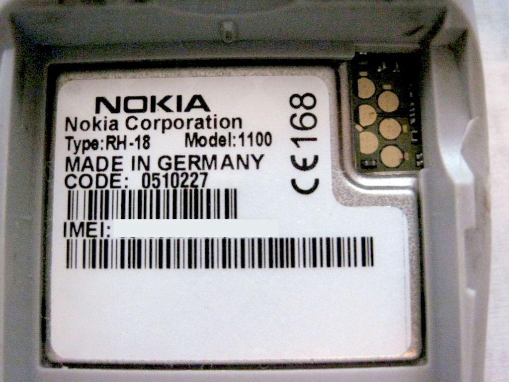 Nokia 1100 Rh-18 For Sell: NOKIA 1100 Rh-18 For Sell