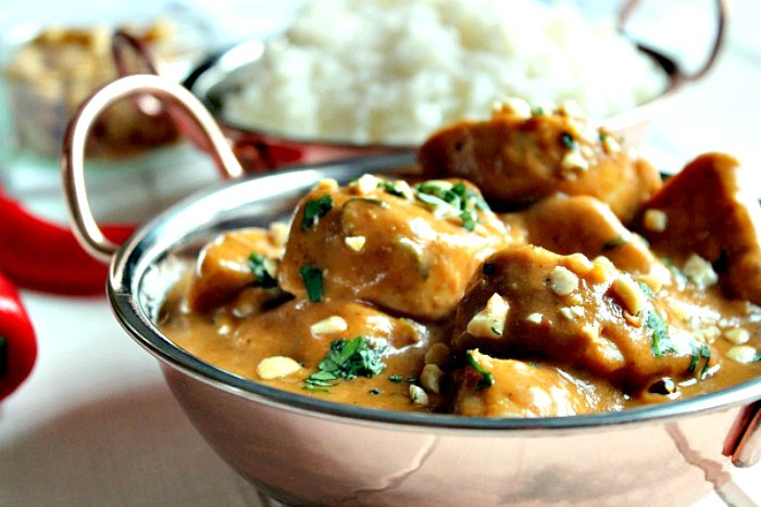 Peanutty Chicken Curry