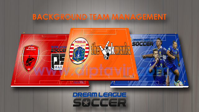 Kumpulan Background team Management Dream League Soccer Versi Club Liga Indonesia