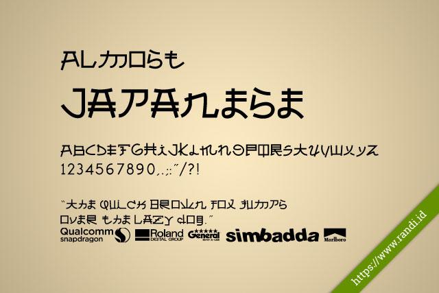 [Xiaomi Font] Almost Japanese Unicode Font MTZ