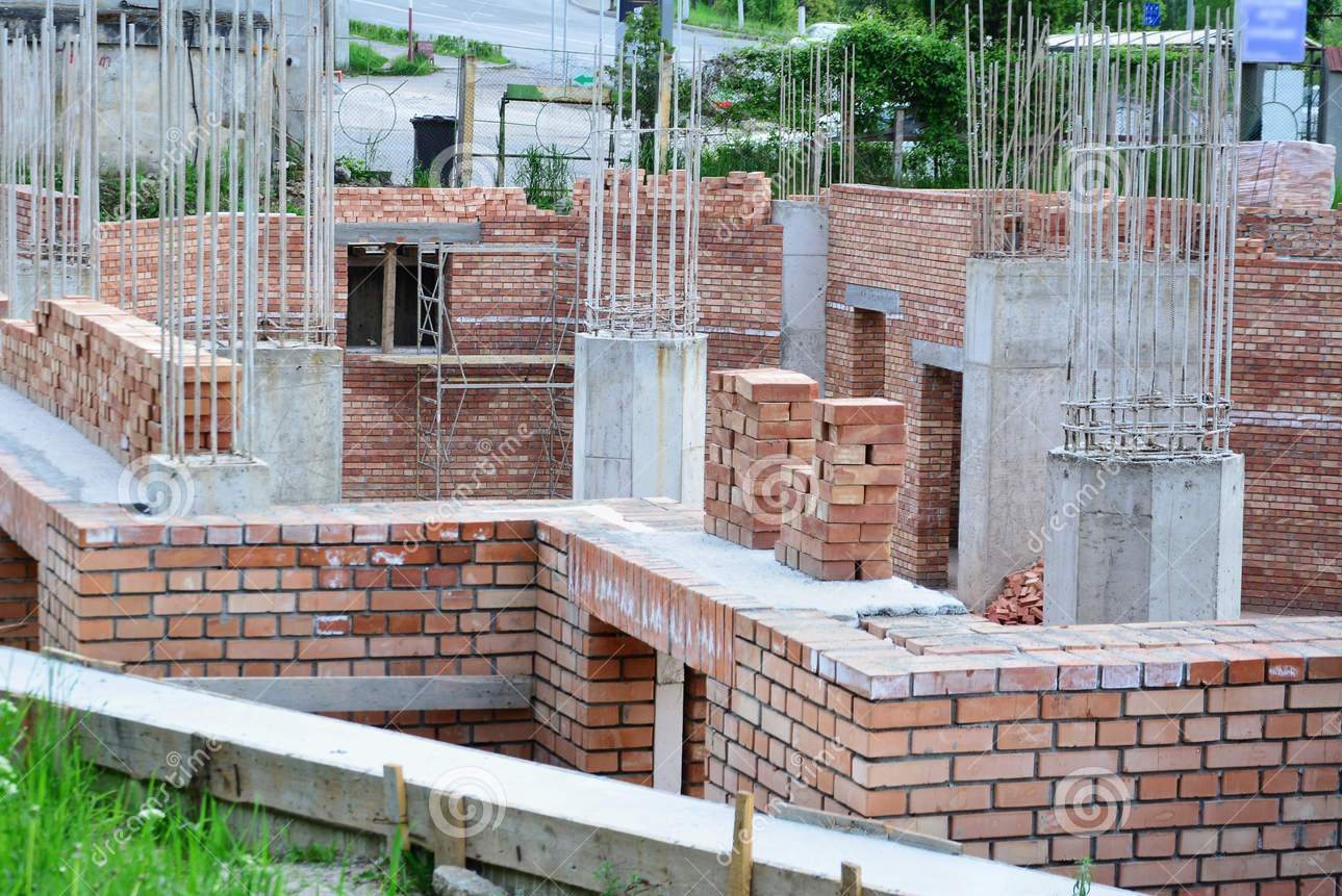 Masonry Building Framed : House construction in india frame structure vs load