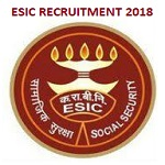 ESIC JE Recruitment 2018