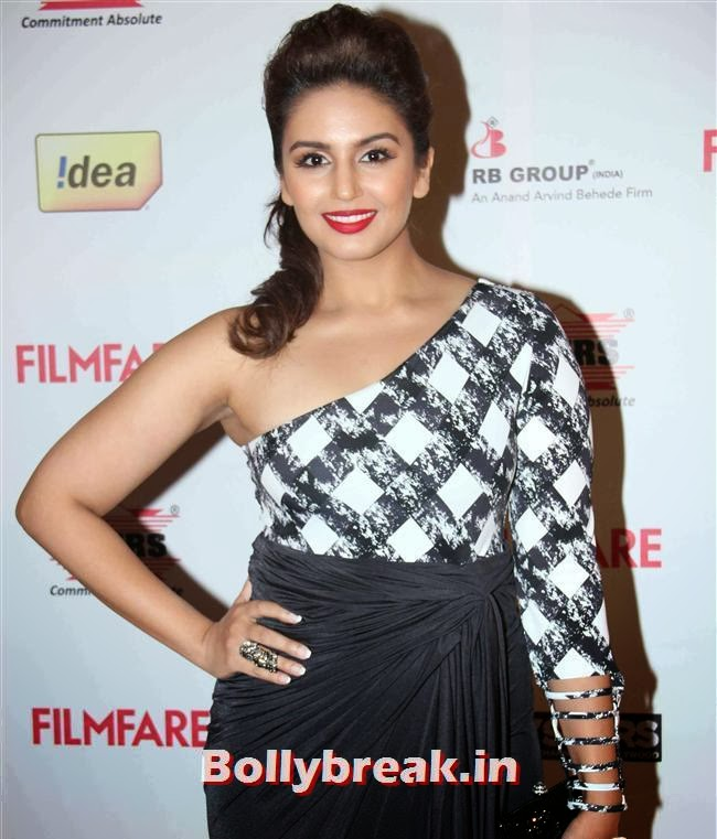 Huma Qureshi, Bollywood A-List Actresses at 59th Filmfare Pre Awards Party