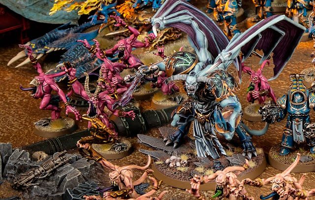 Reglas especiales Tzeentch 40k