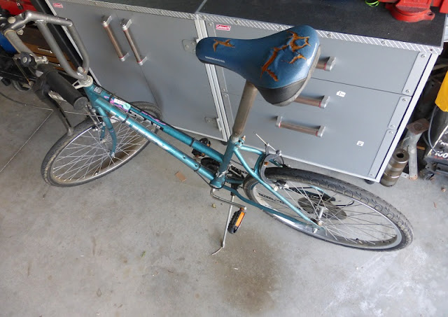 upgraded bicycle