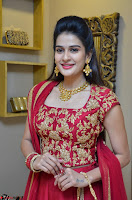 Jenny Honey in Stunning Dark Red Anarkali Dress at Splurge   Divalicious curtain raiser ~ Exclusive Celebrities Galleries 043.JPG