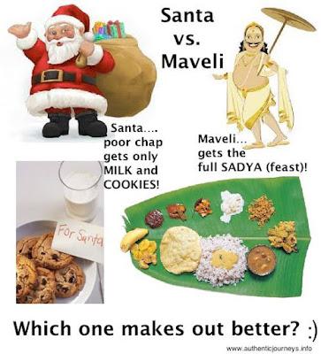 Santa vs. Maveli