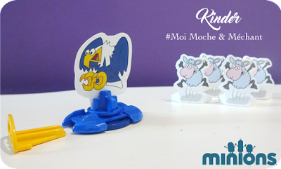 Kinder Surprise : Moi Moche et Méchant