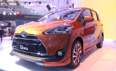Spesifikasi Toyota Sienta