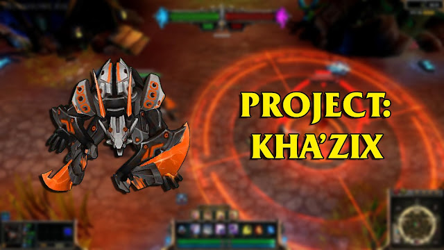 Mod Skin Khazix Project