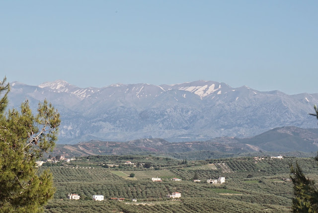 west crete white mountains