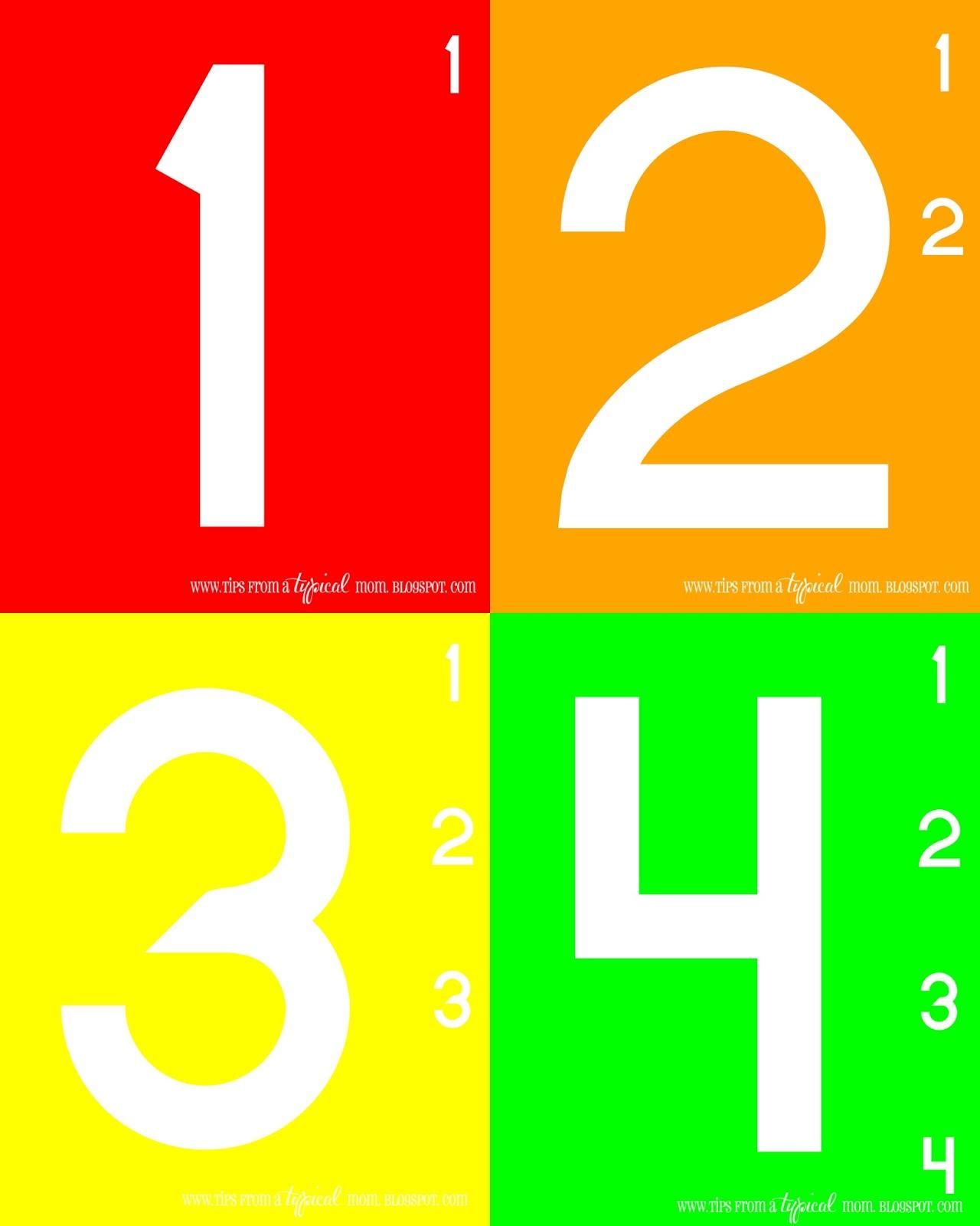 Teach Kids Numbers Free Printable Activity Preschool Kindergarten