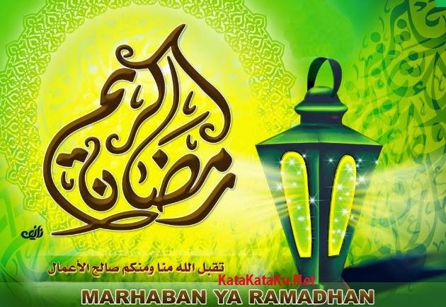 Gambar Kartu Kata Ucapan Puasa Ramadhan