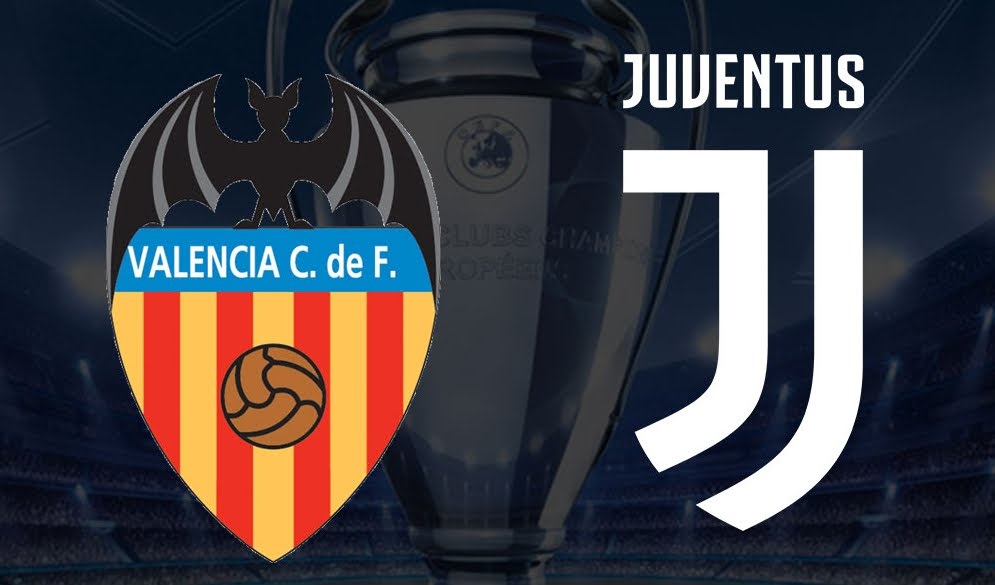 Dove Vedere Valencia-JUVENTUS Streaming Video Diretta Online | Calcio Champions League