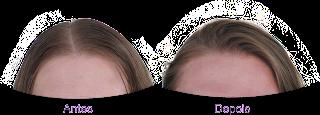 Antes e depois Cowash Máscara Baixo Poo + Nutrição Tresemmé (Resultado)