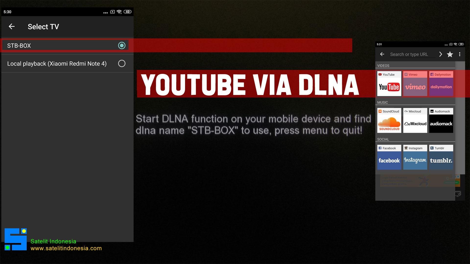 Bagaimana Cara Nonton Youtube Di Receiver Matrix Extra HD