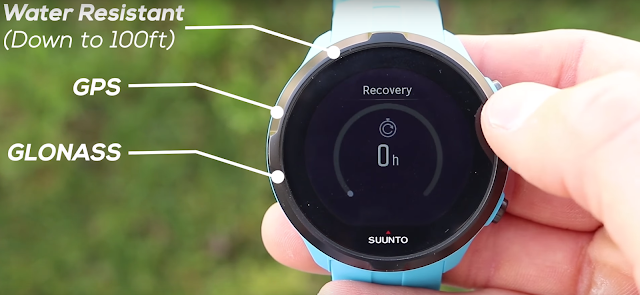 Suunto Spartan Sport Wrist comes with a water resistant feature
