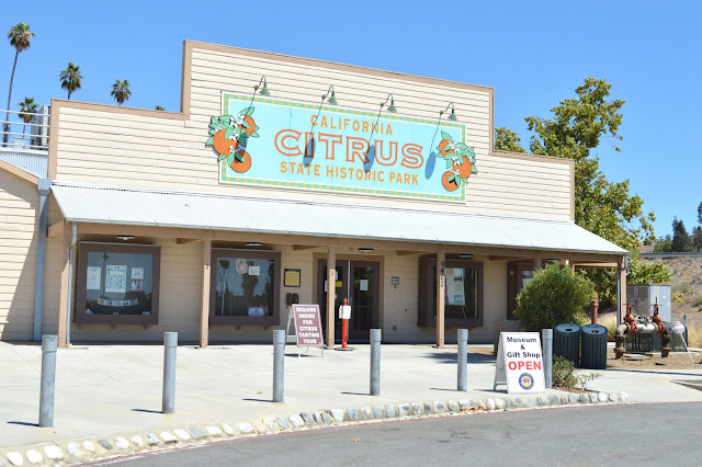 California citrus state historic park museum