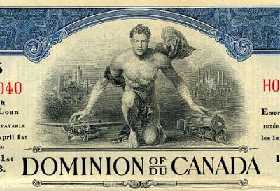 Dominion of Canada bond