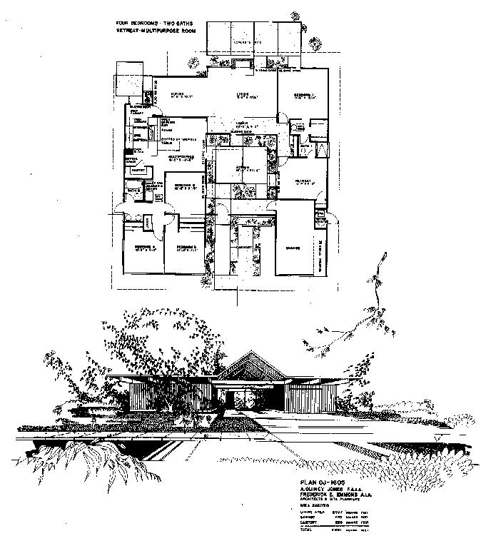 Friendly Architecture Eichler Homes August 2011 – Eichler Homes Floor Plans