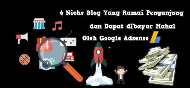 Daftar Niche Blog Dengan Bayaran Tinggi Adsense