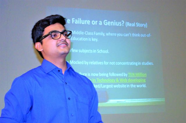 Syed Faizan Ali, Web Entrepreneur & Blogger
