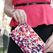 Sew Help Me by Marissa Floral Bow Clutch Showcase