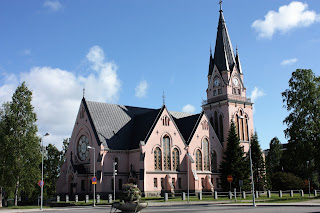 Pink Cathedral-style church