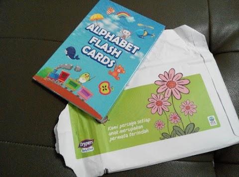 Drypers Baby Club 新手妈妈的免费礼物  宝宝启蒙物之闪卡Flash Card