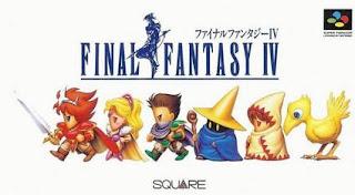 Arte gráfico de Final Fantasy IV SNES, 1991